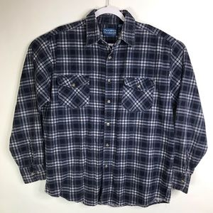 Vintage Norman Rockwell Haband Flannel Shirt
